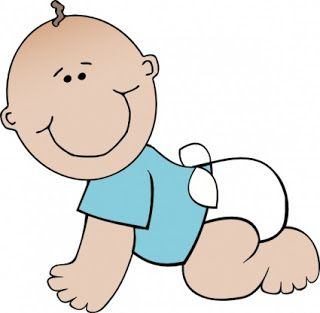 Pin on baby and. Infant clipart year old
