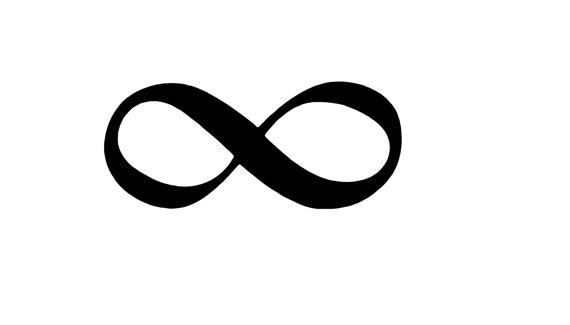 Infinity clipart. Symbol