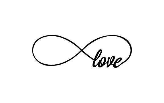 Infinity clipart. Love symbol