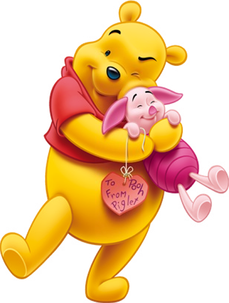 Winnie the pooh and. Naptime clipart little girl