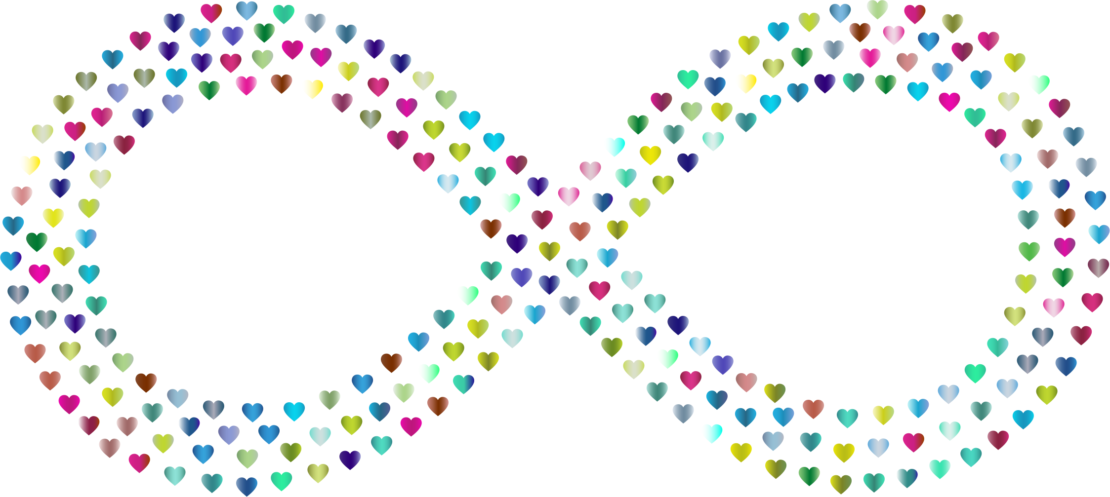 Prismatic infinite no background. Infinity clipart infinity love