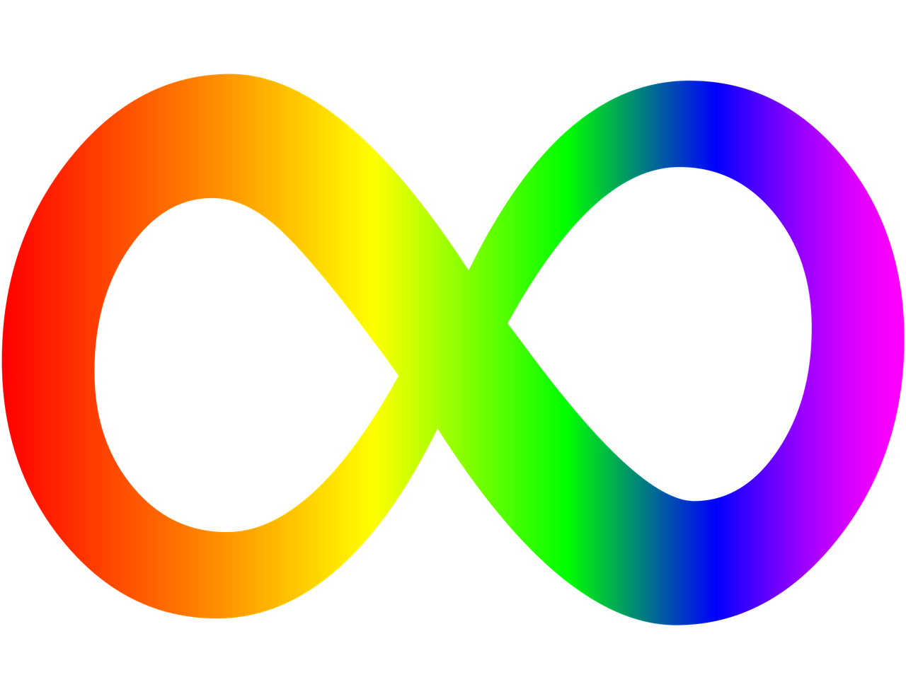 Talking about autism awareness. Infinity clipart love cursive