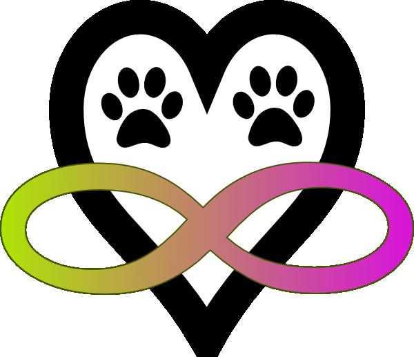 Infinity clipart swirl. Tattoo with dog print