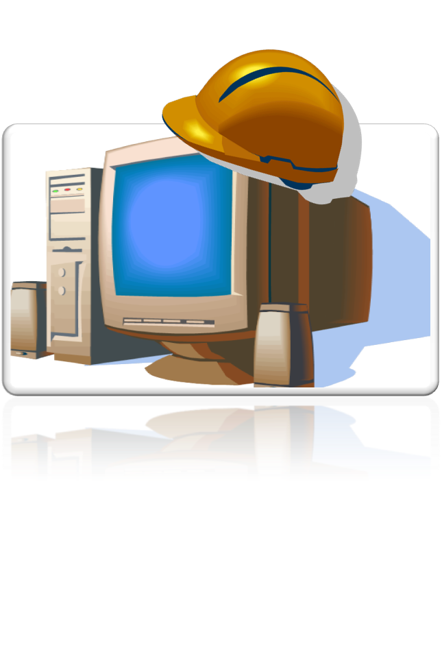 Information clipart computer technology. Safety and care test