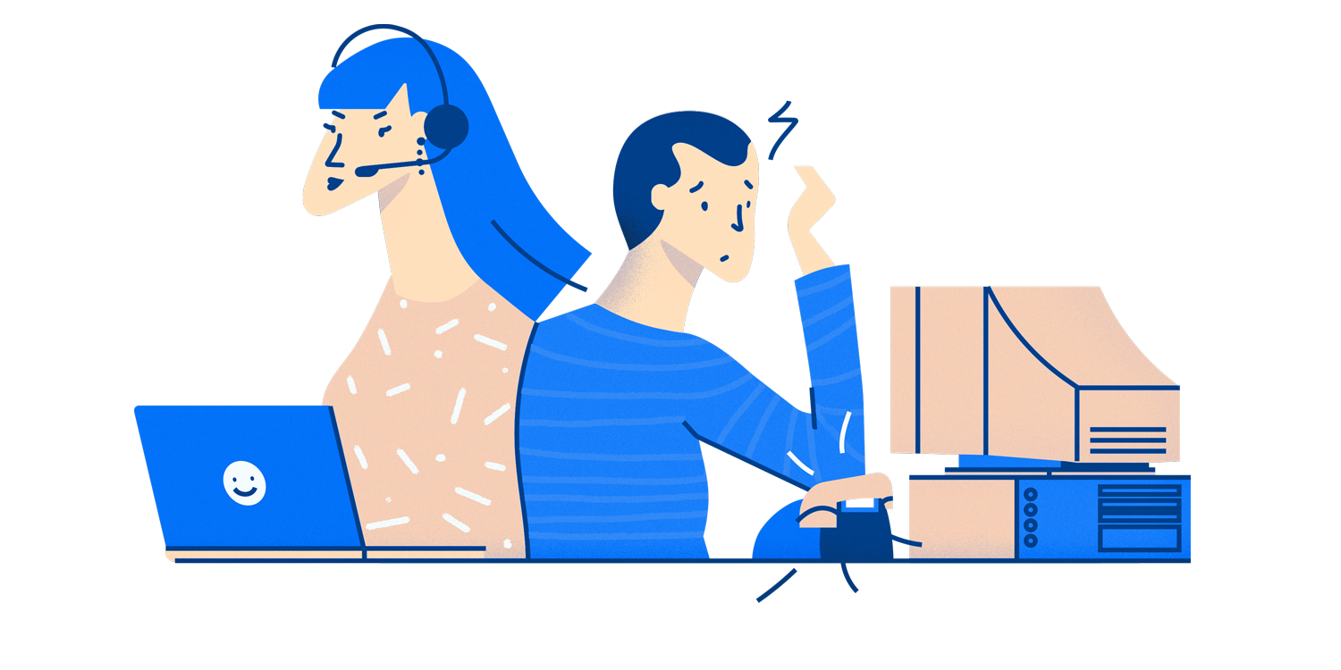 Customer support calls experience. Teamwork clipart outbound training