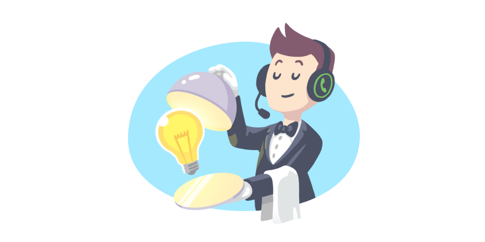 Personalized how to deliver. Information clipart customer service