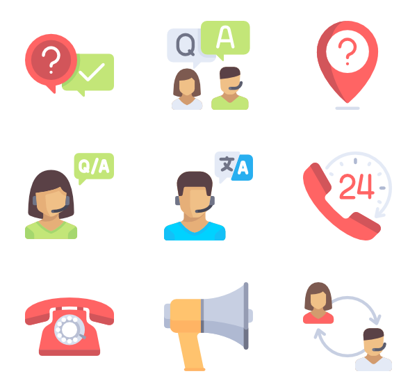 Support clipart support team.  customer service icon