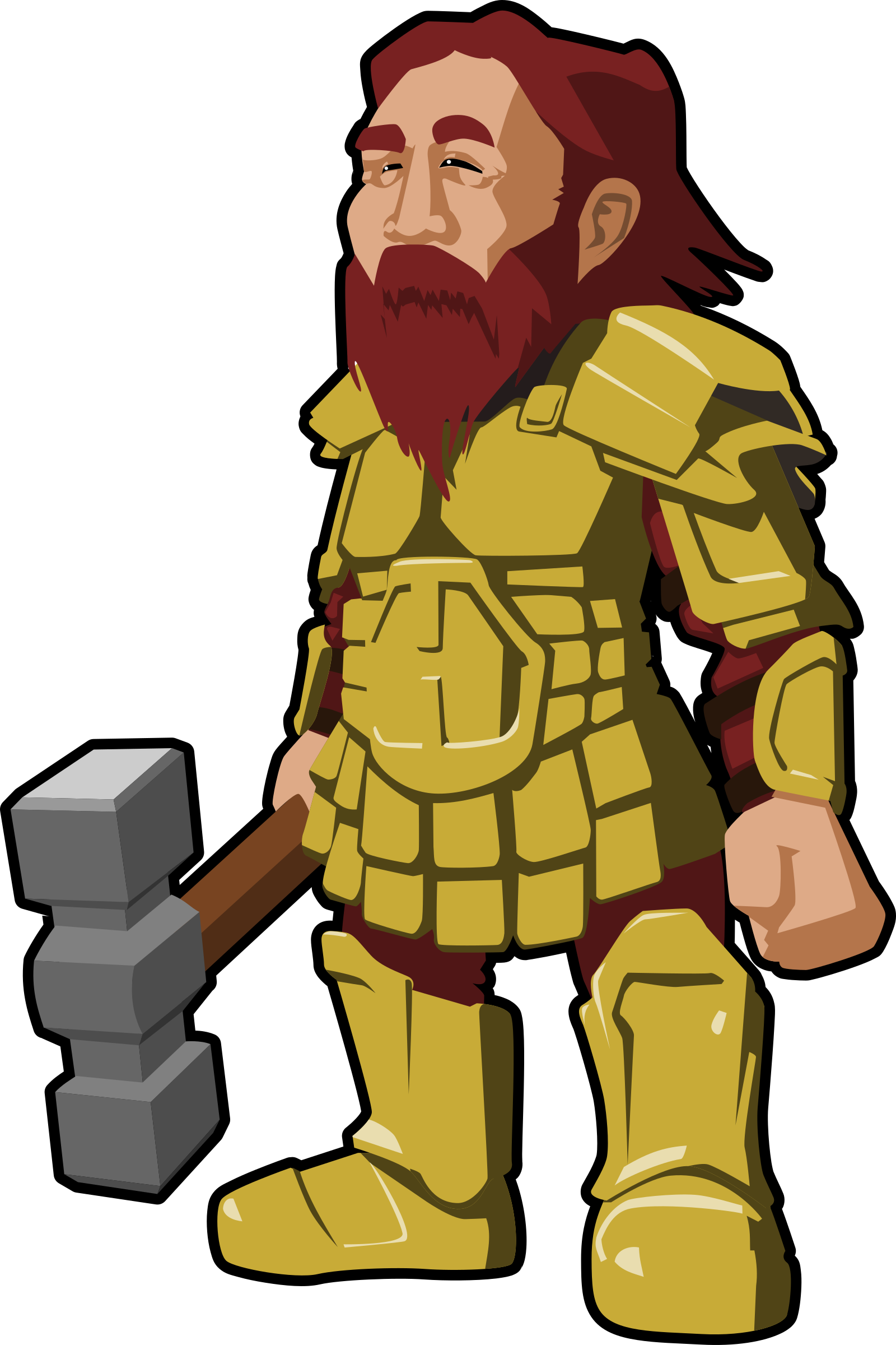 Warrior clipart icon. Dwarf big image png