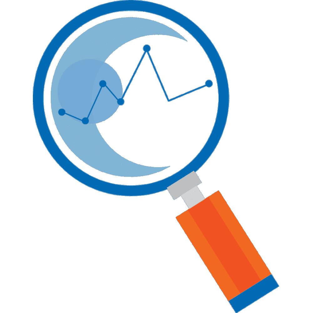 Proviz outsourcing research. Market clipart line art