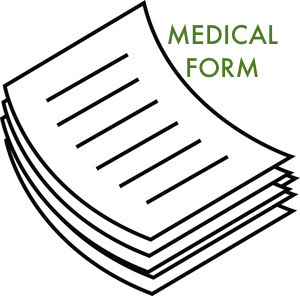 Organized clipart medical paperwork. Forms potomac presbyterian youth