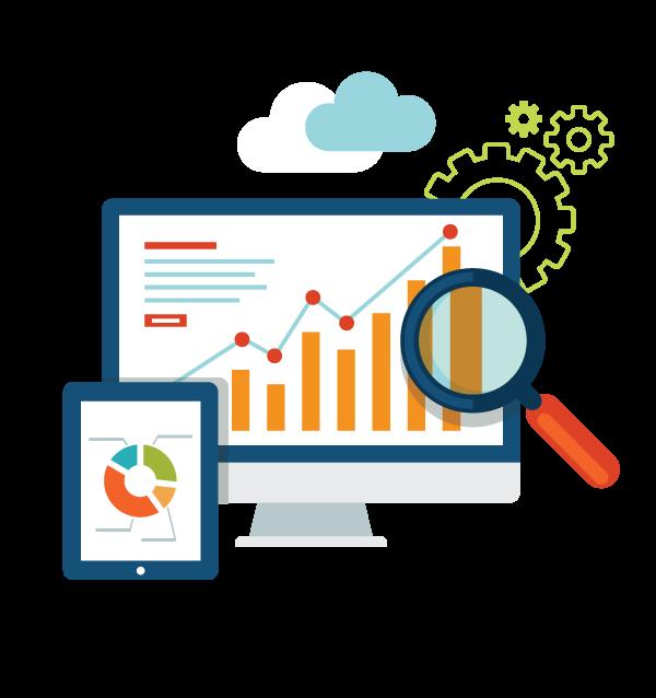 Seo search engine optimization. Website clipart web development