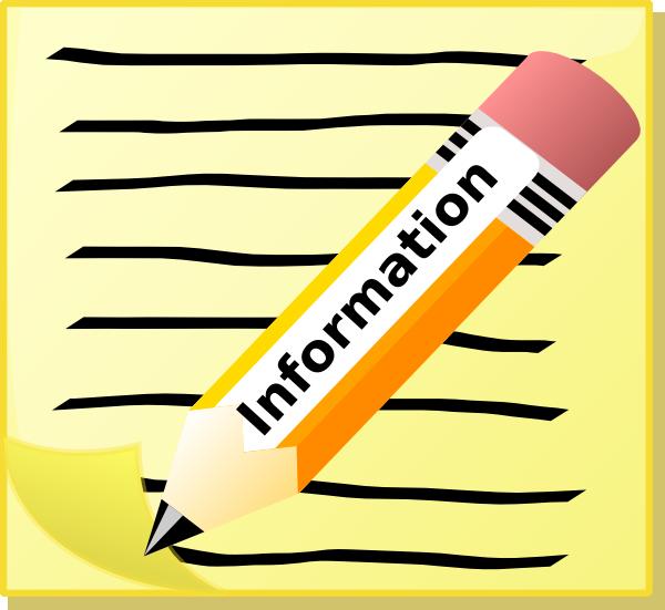 Information clipart. Clip art at clker