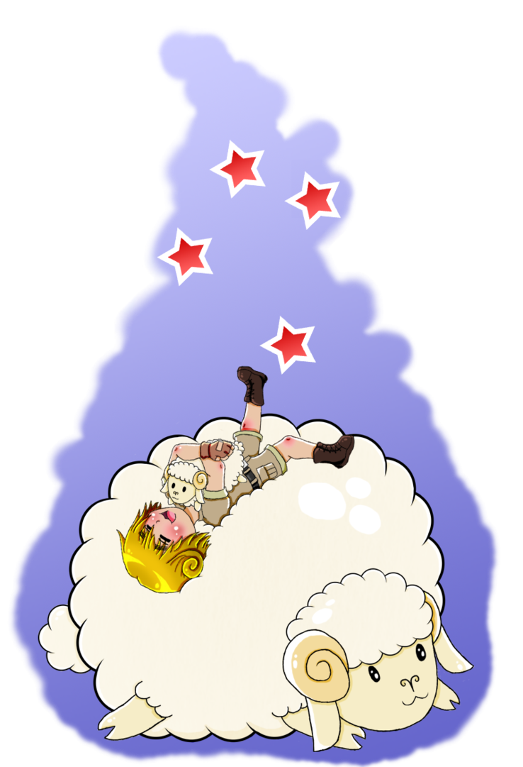 Aph sheep by rose. Injury clipart bloated