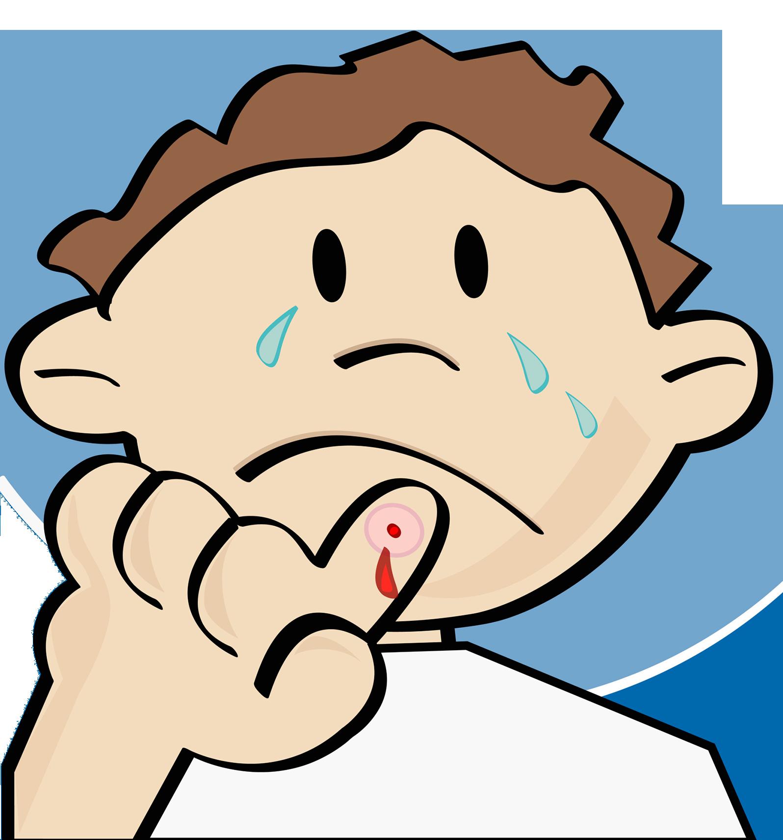 Injury clipart bumped head. Crying cartoon illustration child