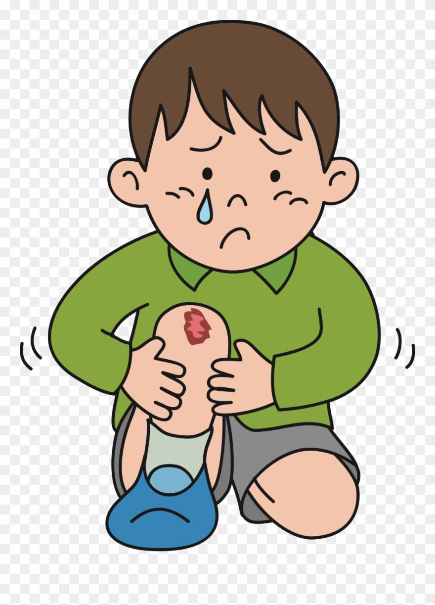 injury clipart child hurt