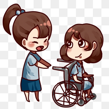 Injury clipart disabled person. People png images vector