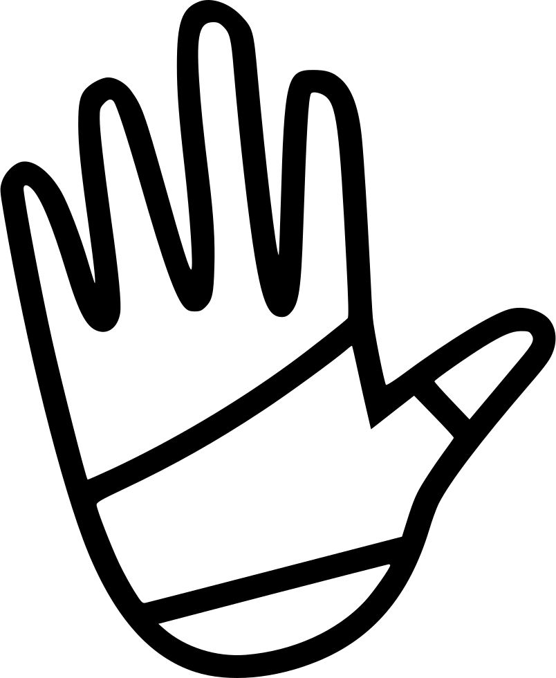 Injury clipart hand injury. Wrap svg png icon