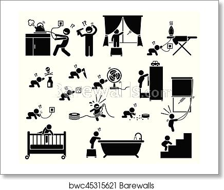 Injury clipart home accident. Safety hazard at for