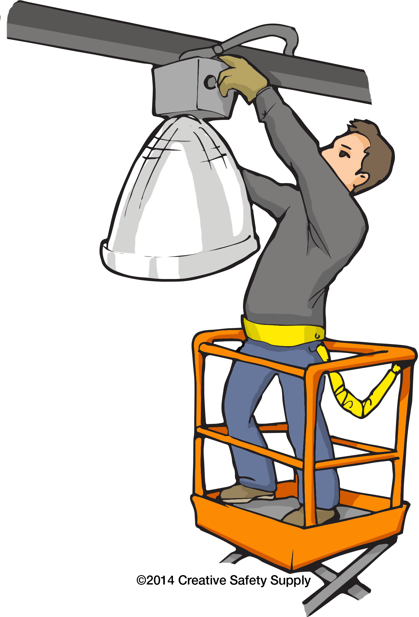 Struck by incidents ways. Ladder clipart unsafe