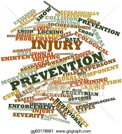 Stock illustration . Injury clipart injury prevention