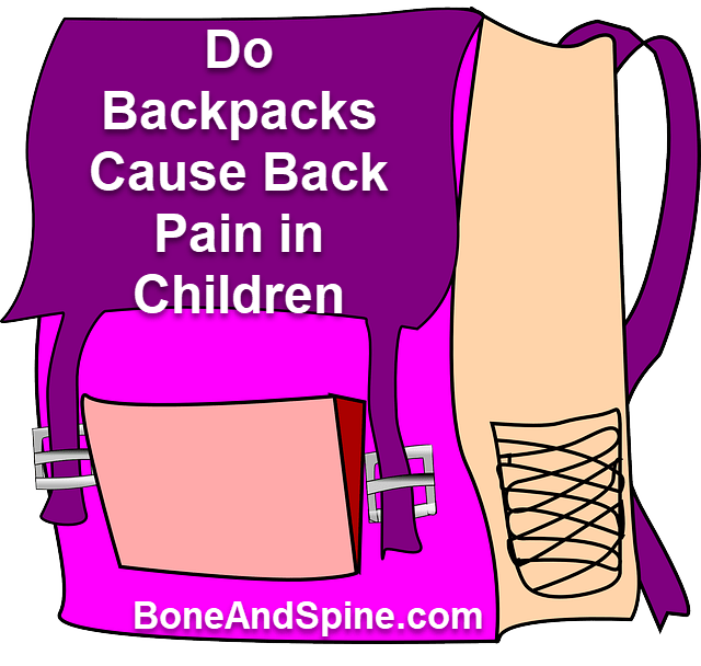 Do backpacks cause back. Injury clipart muscle strain