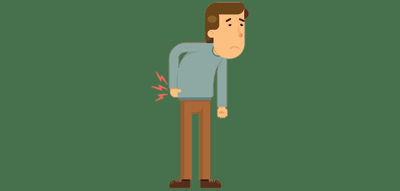 Back pain or backache. Neck clipart muscle ache