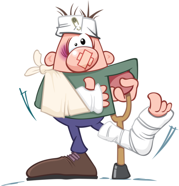 Personnages illustration individu personne. Injury clipart school