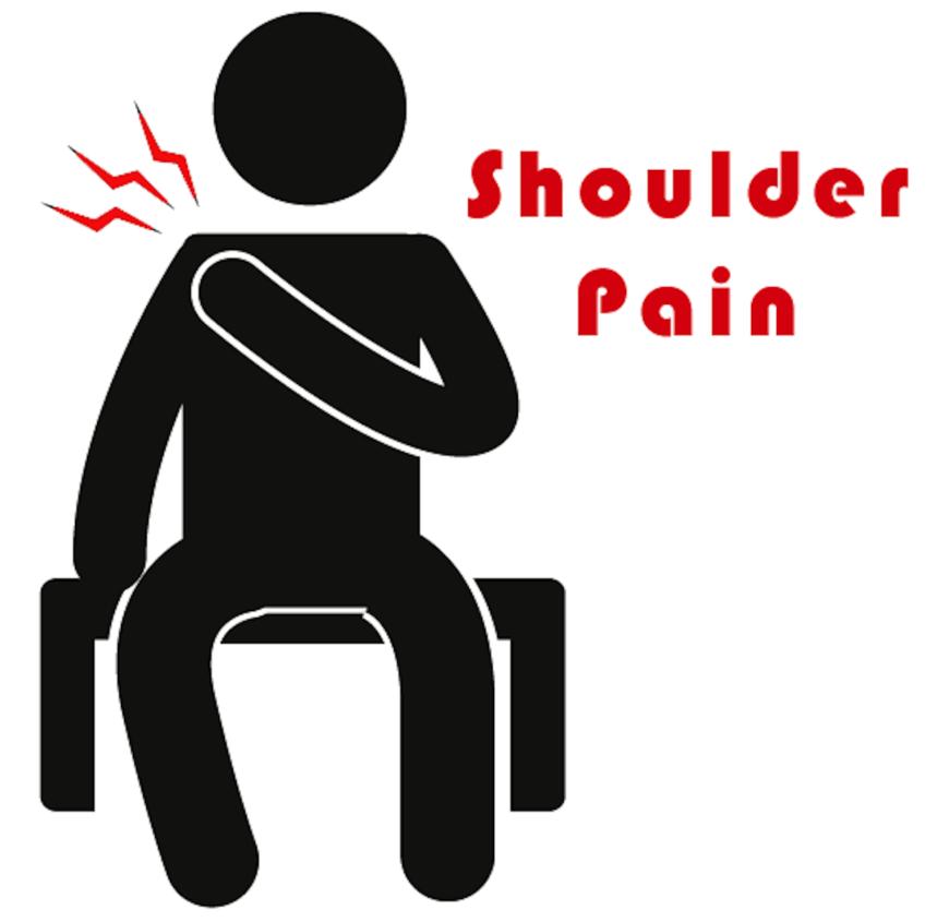 Got shoulder capitol institute. Pain clipart moderate