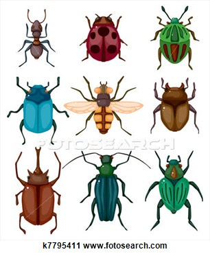 Insect clipart. Bugging people insects