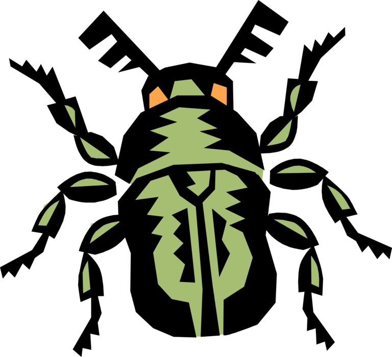 Insects clipart scarab beetle. Egyptian vector image illustration