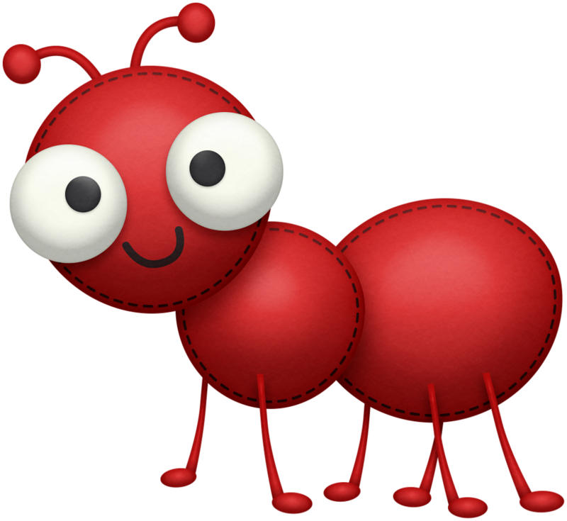Ladybugs clipart air animal. Ant png clip art
