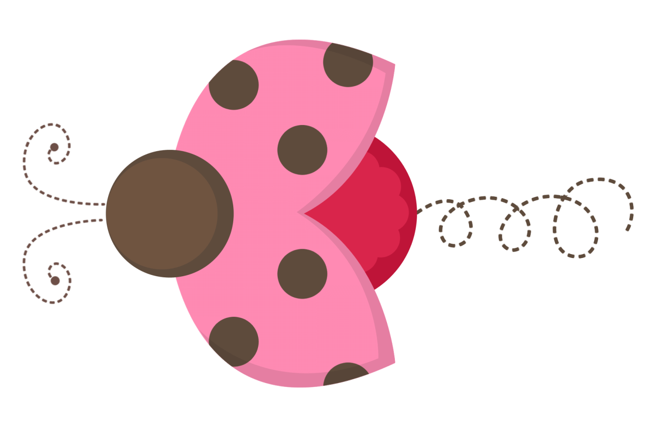 Free pink lady cliparts. Insect clipart borders