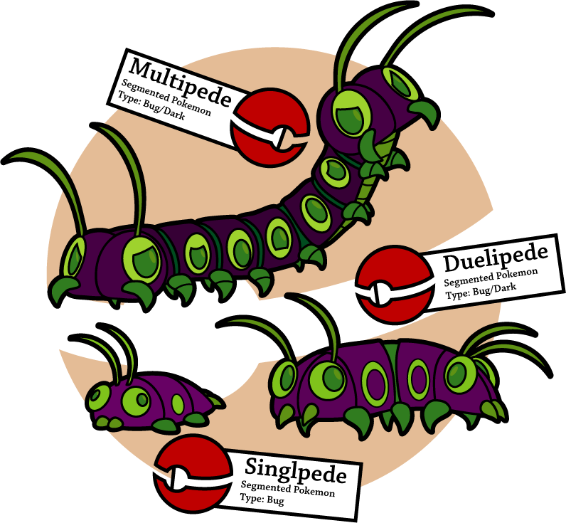 Multi minded centipedes by. Insects clipart centipede