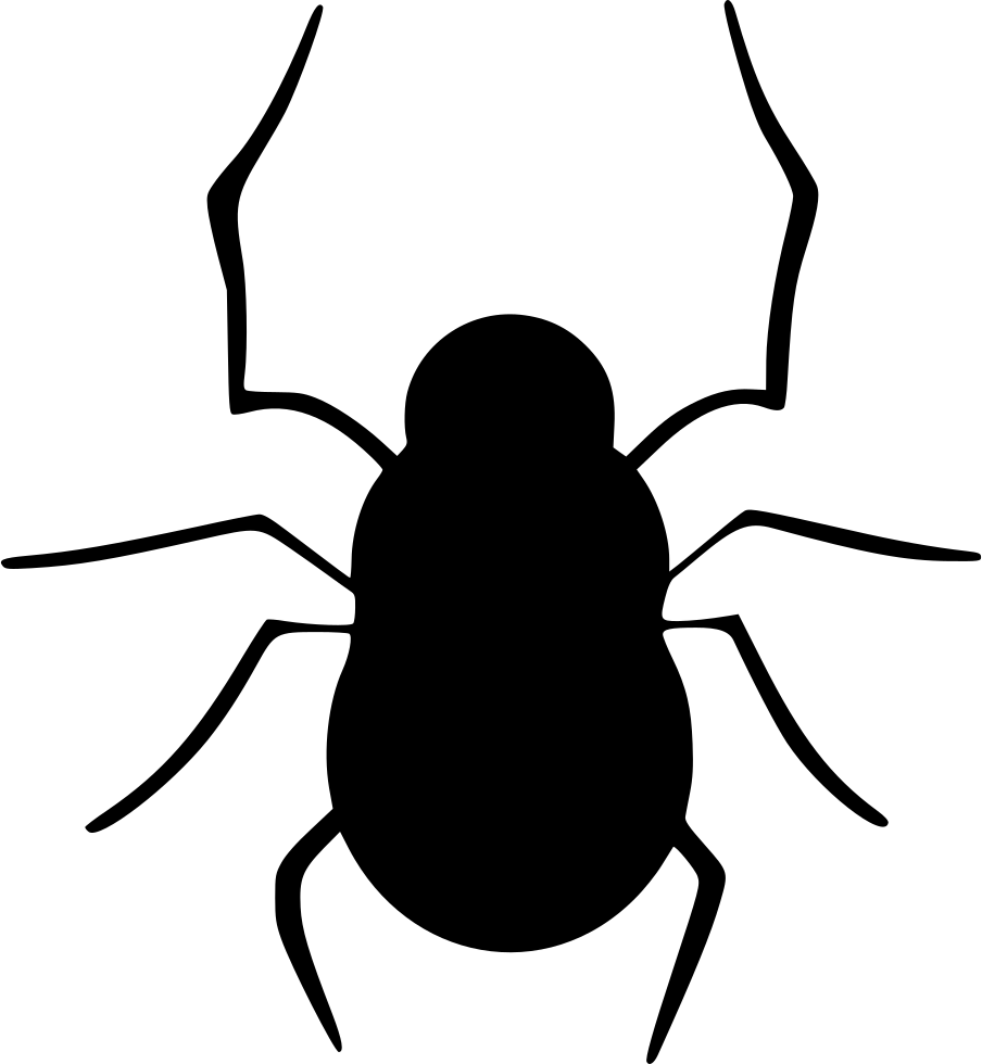 Bug halloween insect spider. Insects clipart darkling beetle