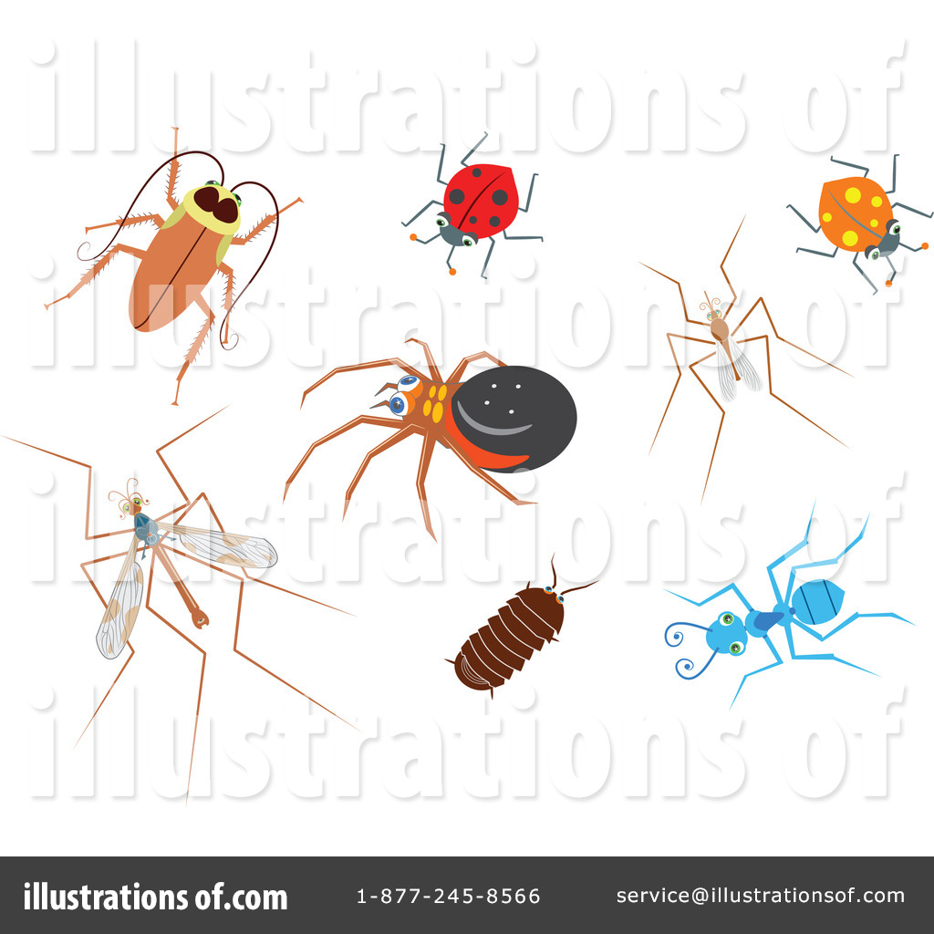 Insects illustration by prawny. Insect clipart desert insect
