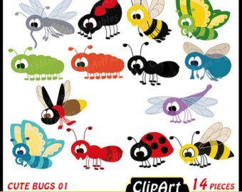 Rainforest clipart rainforest insect. Cute wild animals clip