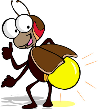 Insect clipart light bug. Diy lighting bugs books
