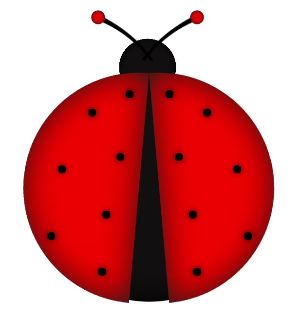 insects clipart red bug