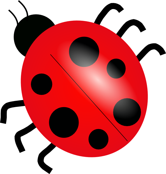 Ladybird cartoon google search. Ladybug clipart friendly