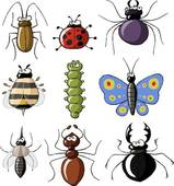 Insects clipart. Clip art royalty free