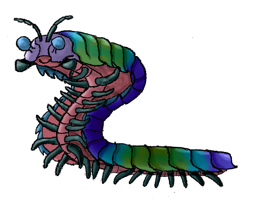 Ark survival evolved arthropleura. Insects clipart centipede