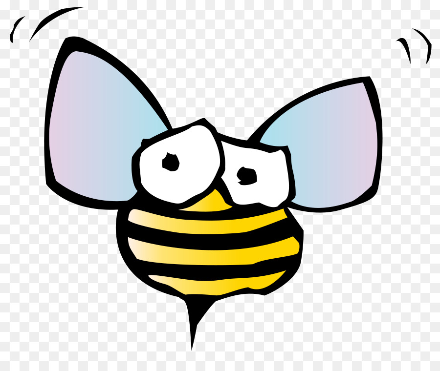 Bugs bunny bee transparent. Insects clipart face