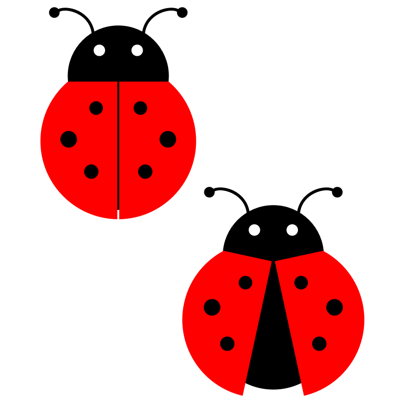 Ladybugs clipart ladybug wing. Aplicaciones pinterest patchwork