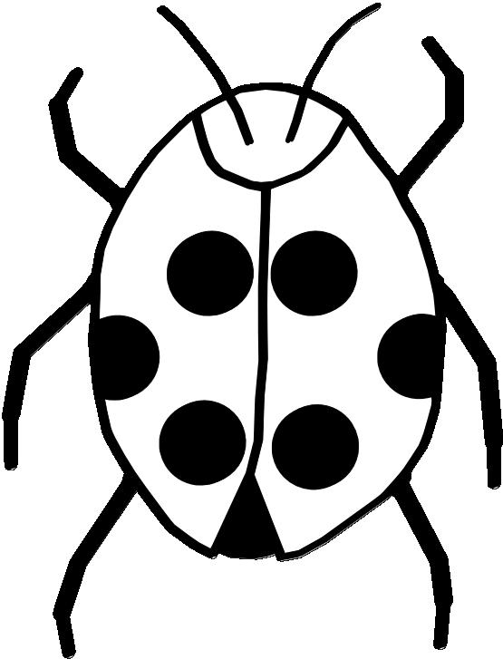 Ladybug clipart symmetrical. On flower tattoo panda