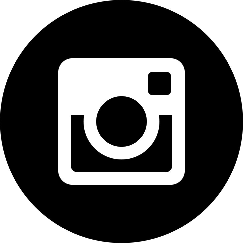 instagram clipart b&w