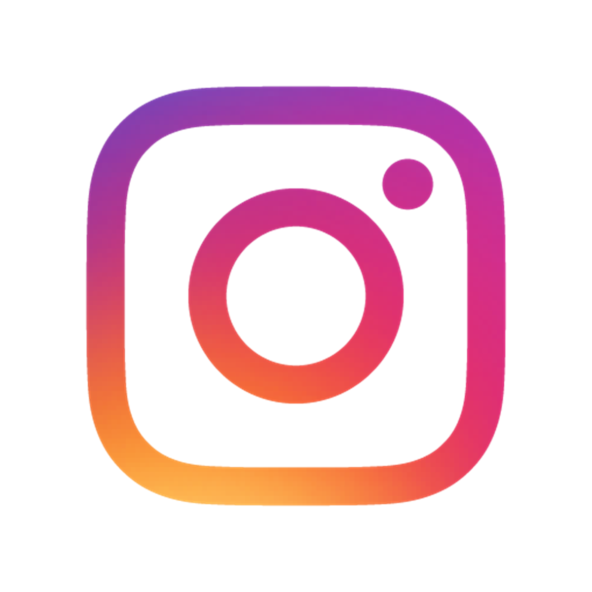 A website is selling. Instagram clipart hi res