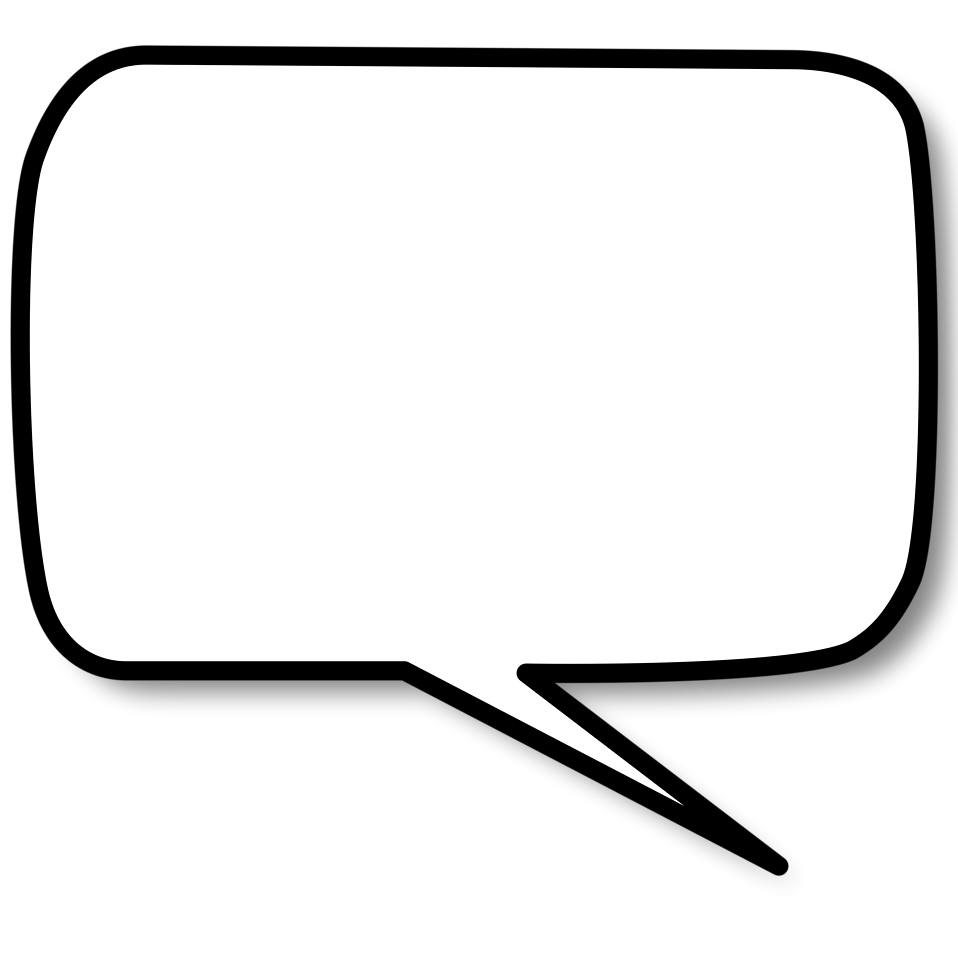 Square clipart speech bubble. Free images download icons