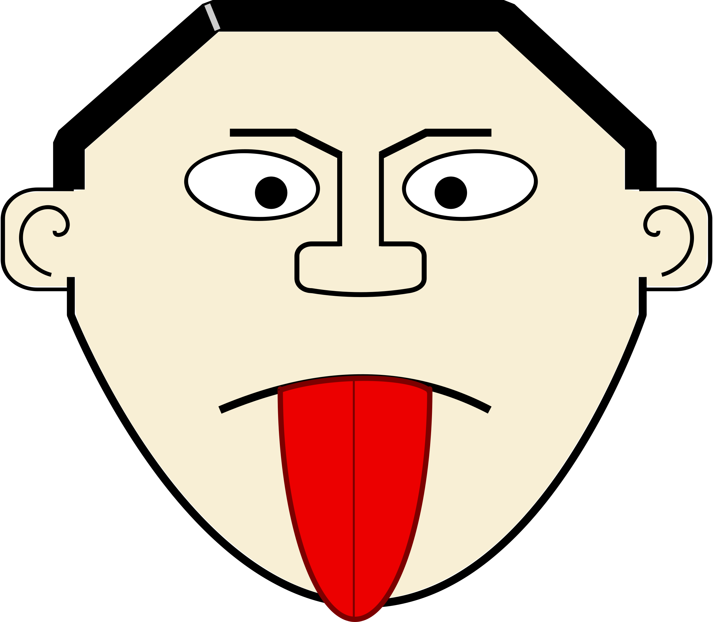 Taste clipart mouth open. Tongue clip art panda