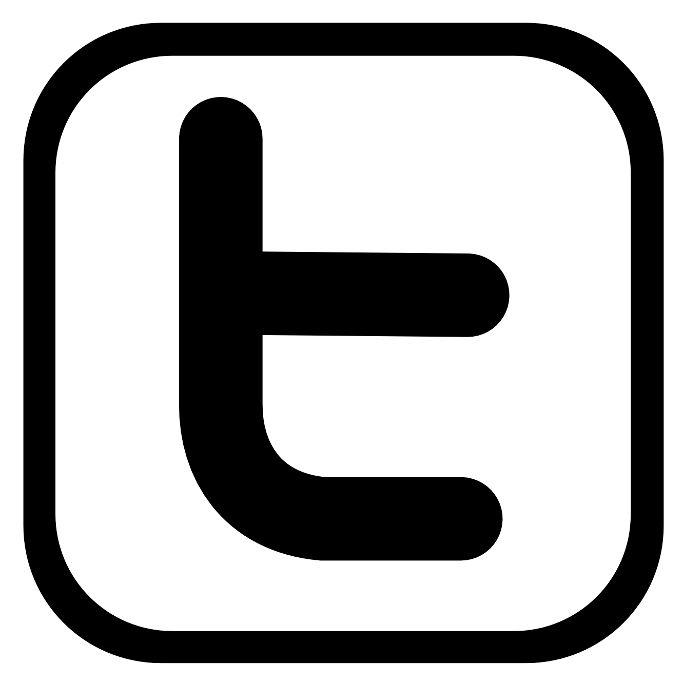 Twitter black png.  logo latest icon
