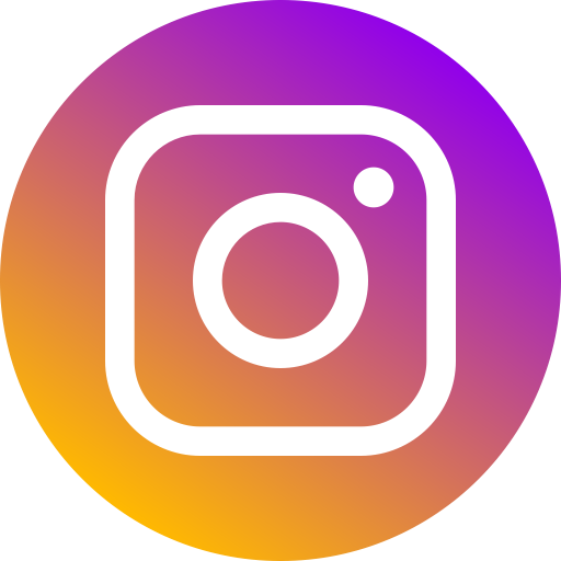 Instagram png icon. Social media networks color